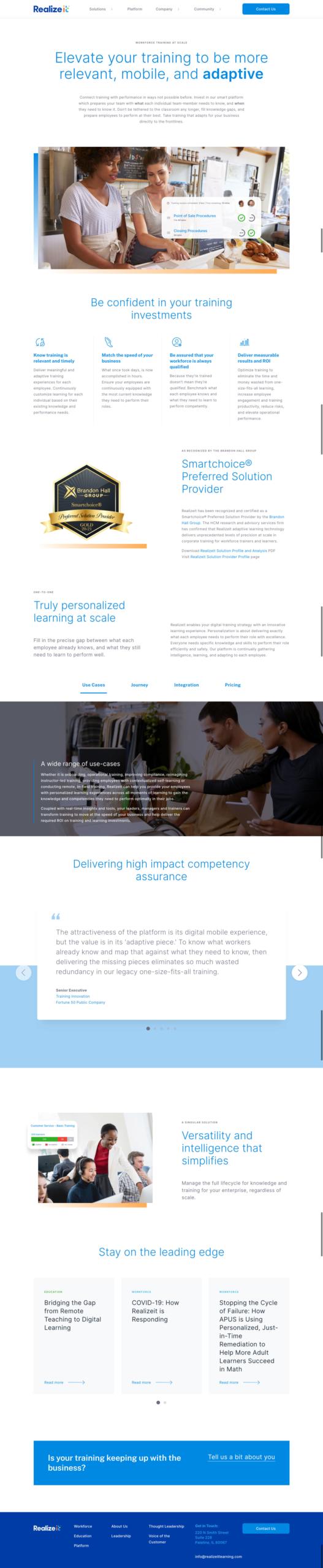 Realizeit Workforce Design